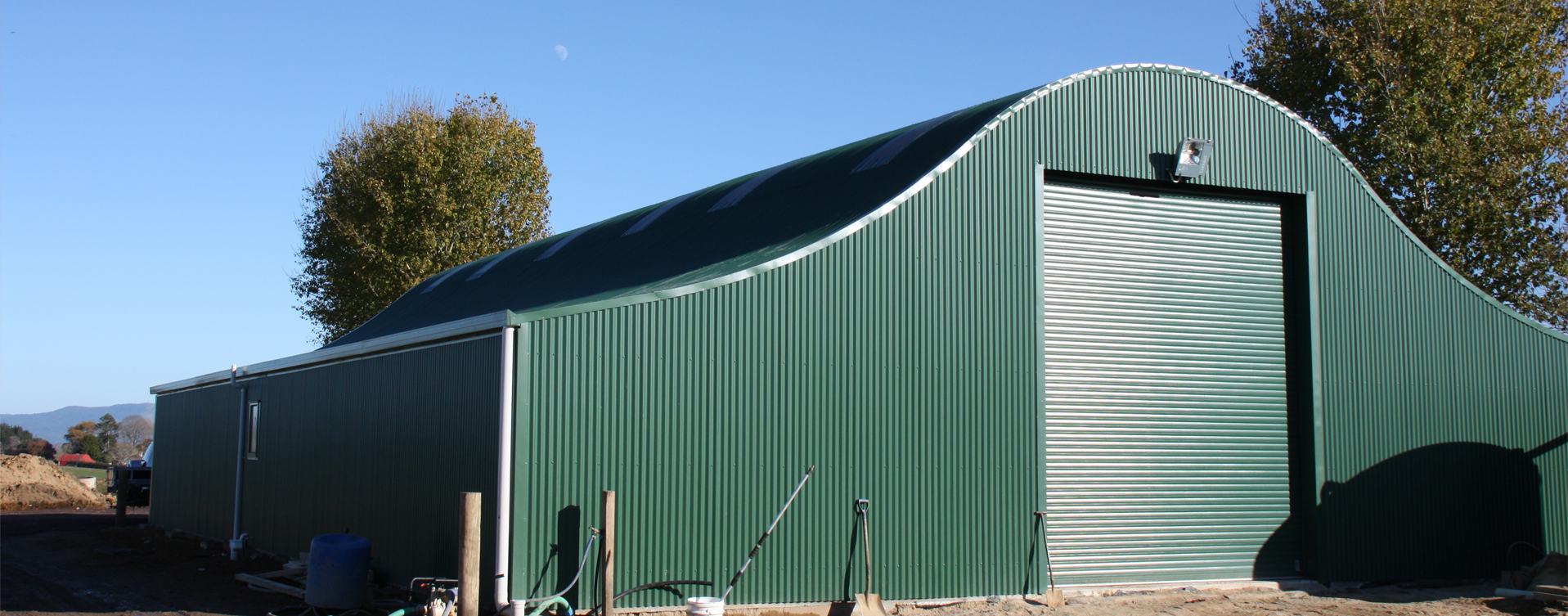 Half Round Barns And Farm Buildings Morrinsville Waikato
