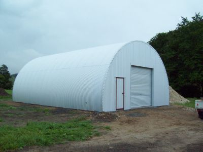 Half Round Barns